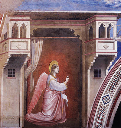 Annunciation: The Angel Gabriel Sent by God Giotto
