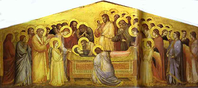 The Death of the Virgin Giotto